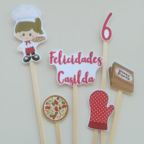 Cake Toppers Little Chef